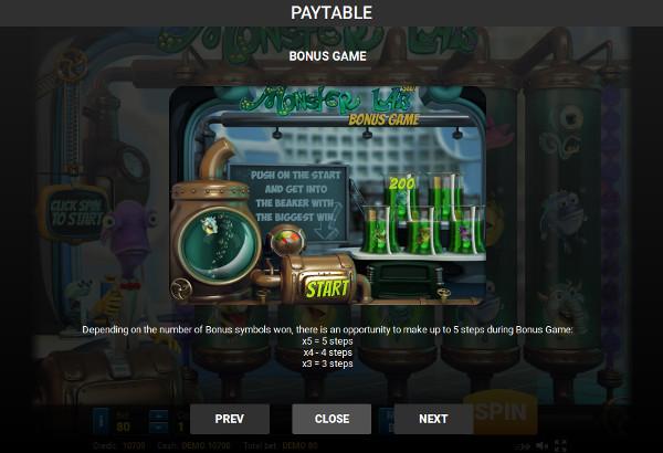 Игровой автомат Monster Lab - в Вулкан казино зеркало играй и выигрывай