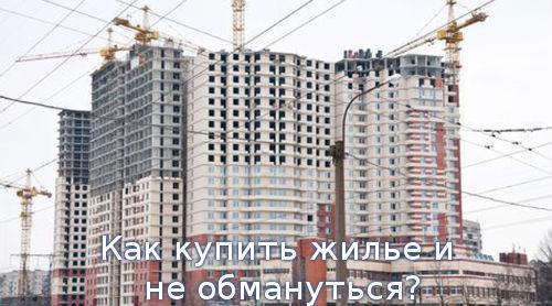 Как купить жилье и не обмануться?