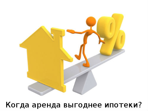 Когда аренда выгоднее ипотеки?