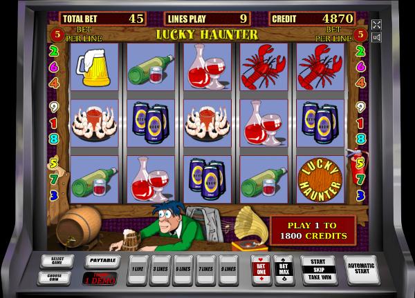 Приятные сюрпризы ждут игроков Вулкан казино в автомате Lucky Haunter