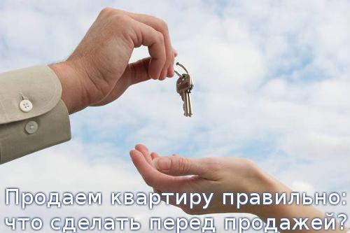 Продаем квартиру правильно: что сделать перед продажей?