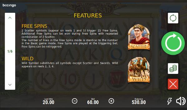 Слот Age of Caesar - получай щедрые бонусы в Плей Фортуна казино
