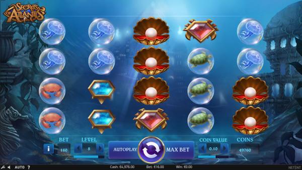 Слот Secrets of Atlantis - на официальный клуб казино Вулкан играть